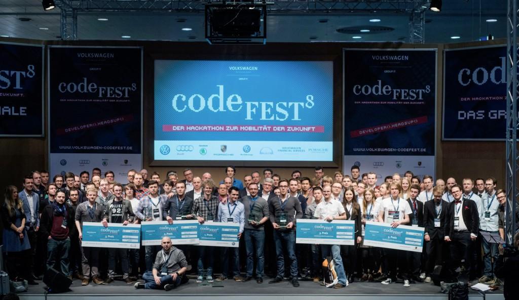 Volkswagen Programmierwettbewerb codeFEST8